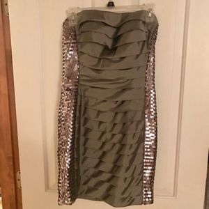 Milano Silver Cocktail Dress